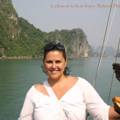 Bahía de Halong, Vietnam: a bordo de un Junco (embarcación típica del país).